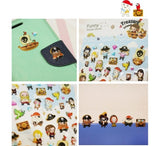 3D Cartoon Pirates Sticker