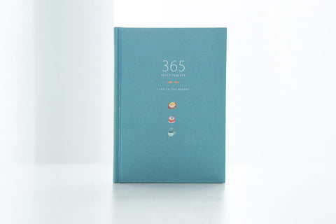365 Days Personal Planner (8 Colors)