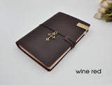 Customizable Engraved Leather Traveler's Notebook