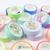 24 Colors Pastel Rainbow Color Washi Tape