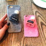Fluffy Beanie iPhone Case