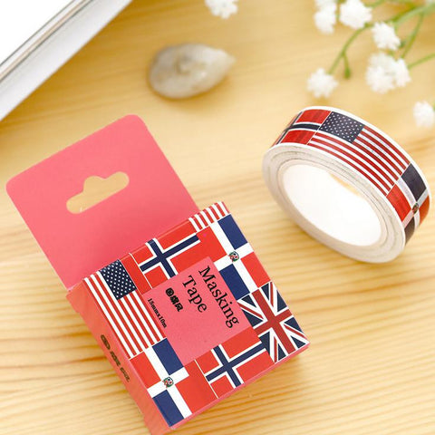 Flags Washi Tape