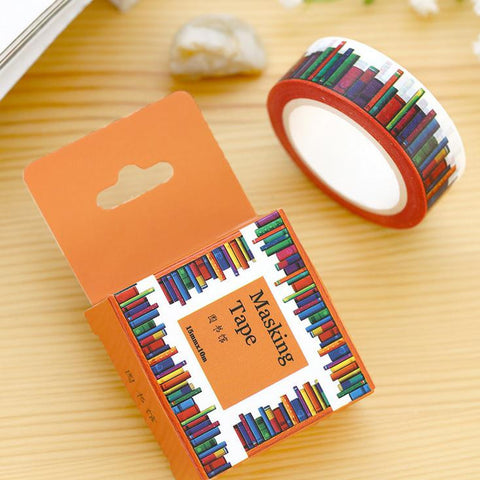 Library Washi Tape