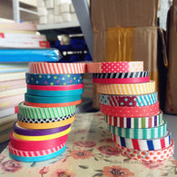 18 PCS Slim Washi Tape Set