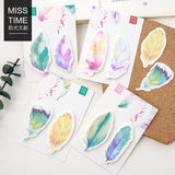 8 Designs Watercolour Feature Sticky Notes Set
