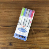 Zebra Mildliner Double-Sided Highlighter / Pen Mixed Set (10/15/20 Pen)