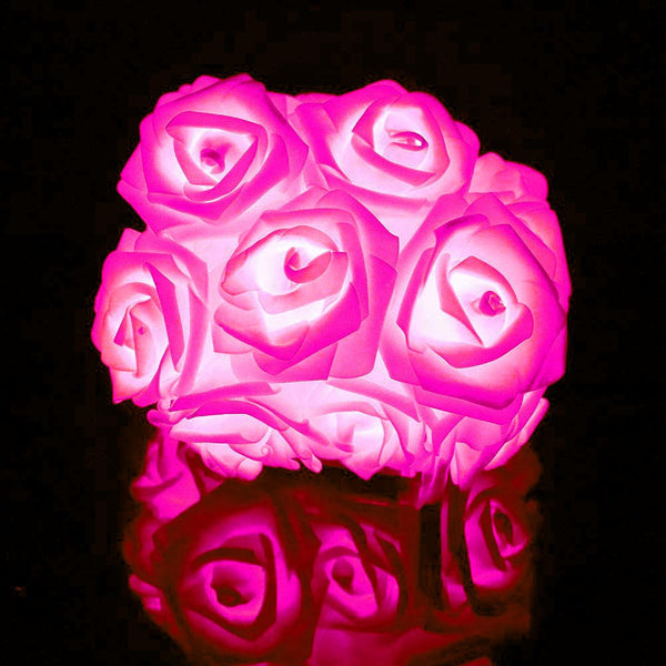 Roses LED Fairy Lights (20 Roses per string)