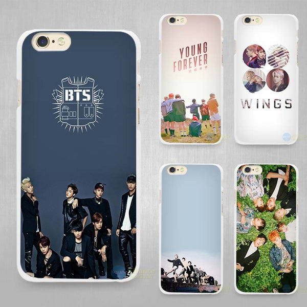BTS Kpop Hard Phone Case for iPhones