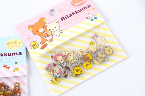 80 PCS Rilakkuma Mini Stickers
