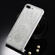 Tribal Lacey White iPhone Case