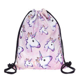 Unicorn Drawstring Backpack