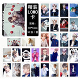 30 Pcs BTS Jimin Lomo Cards Set (3 Designs)