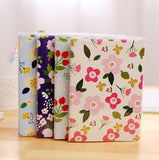Pastel Flowers Decorated Planner/ Notebook