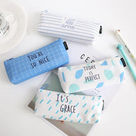 Positive Quotes Pencil Case