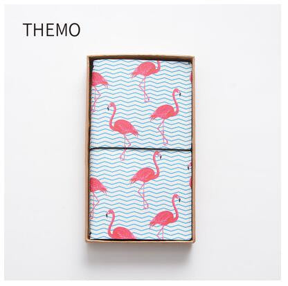 The Strolling Flamingo PU Leather Traveler's Notebook