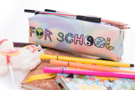 Too Cool For School Hologram Pencil Case