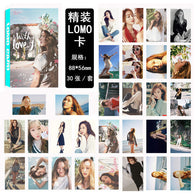 30 PCS Jessica Jung Lomo Photo Card Set