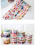 Assorted 10M Washi Tape (23 Designs)