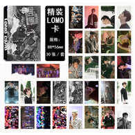 30 PCS GOT7 Kpop Lomo Cards (13 Designs)