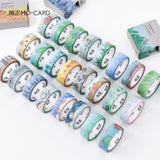 Cartoon Weather Themed Washi Tape (24 Designs)