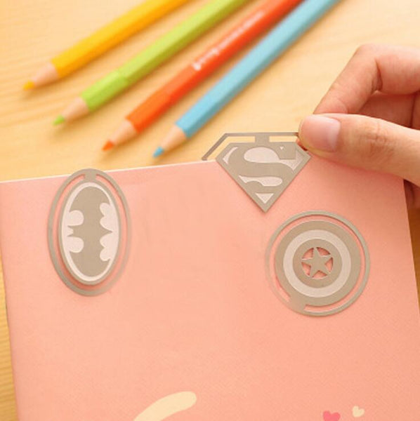 Superheroes Bookmark