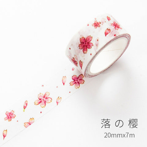 Japanese Pink Cherry Blossom Washi Tape