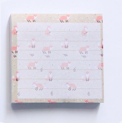 Floral Themed Sticky Notes