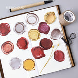 45 Pcs/ Pack Wax Seal Stickers
