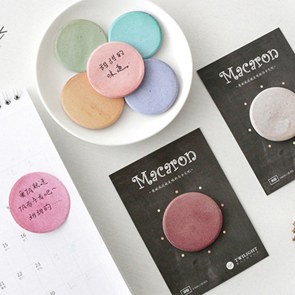 8 Colors/ Set Macaron Sticky Notes