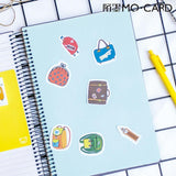 45 PCS Cute Travel Stickers