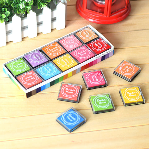 20 Colors Ink Stamp Pad Set