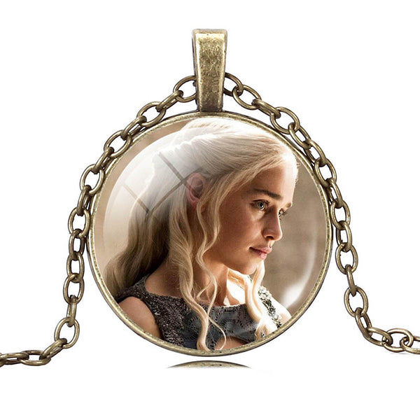 Game of Thrones - Glass Cabochon Necklaces