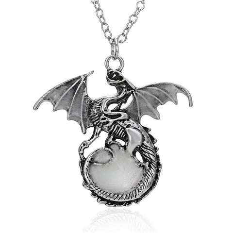 Game of Throne Dragon Punk Glowing Necklaces