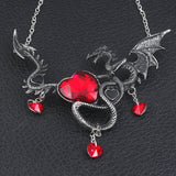Game of Thrones - GOT - Gothic Vintage Dragon Necklace