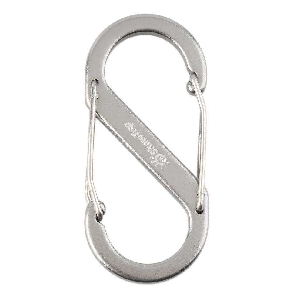 Metal Keychain Buckle Survival Gear Carabiner Hook free shipping