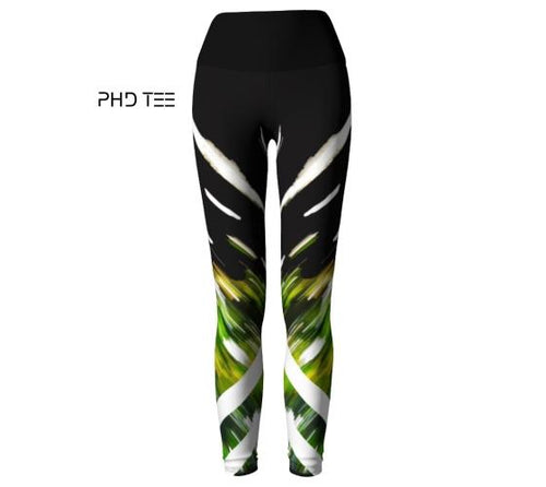 Nature Force Activewear Leggings, Front, PHD TEE