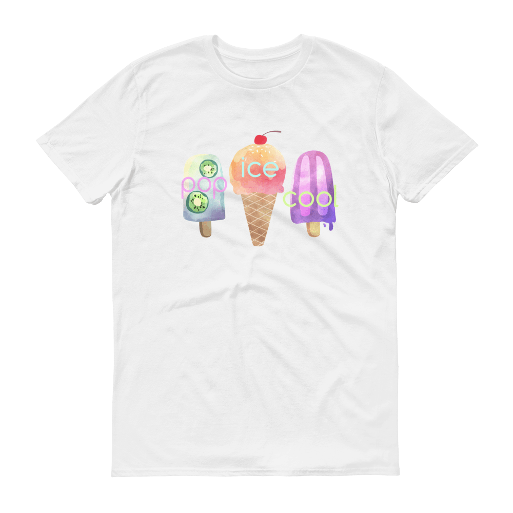 Pop Ice Cool Limited Edition T-Shirt, White