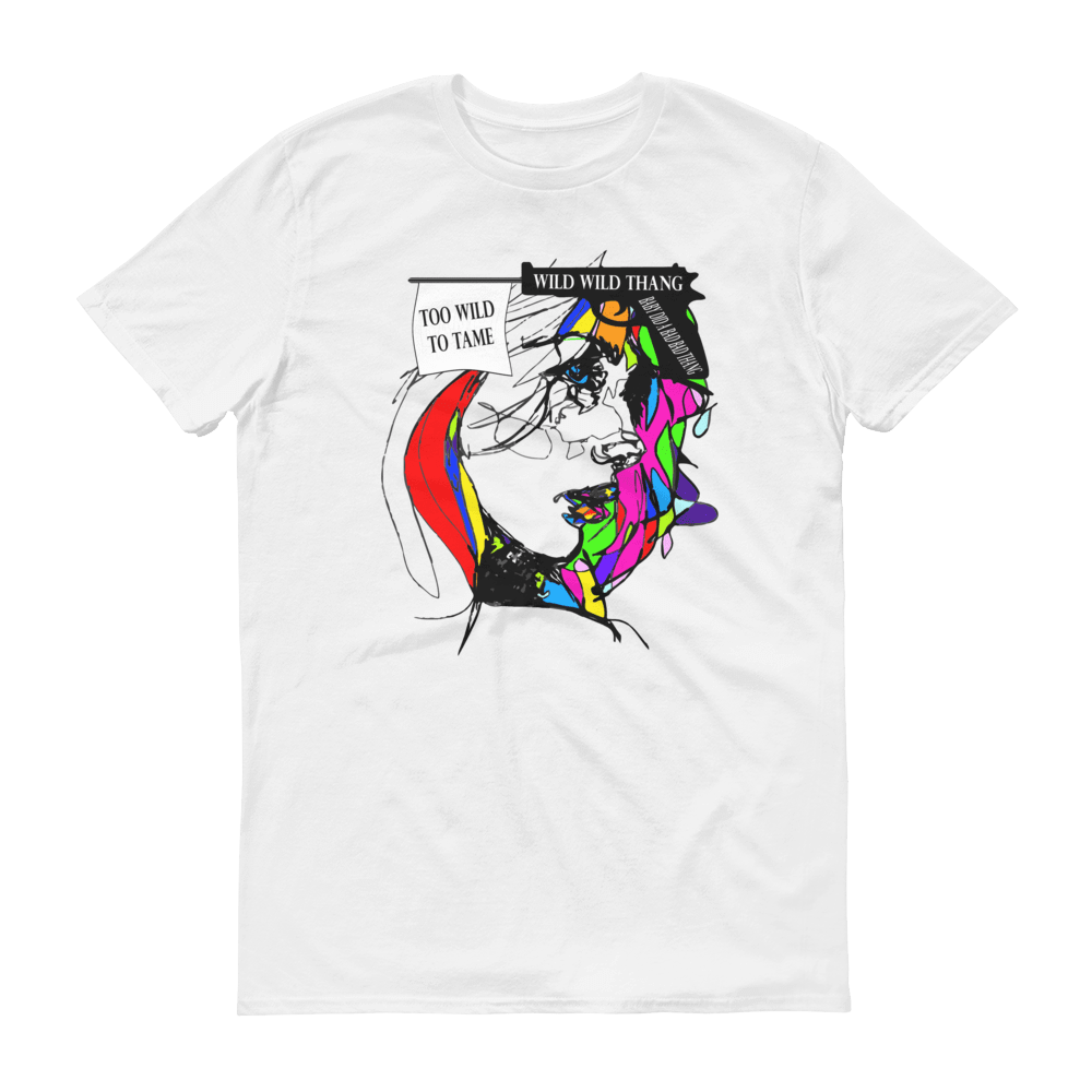 Wild Limited Edition Unisex T-Shirt, Fashion T-shirt, white
