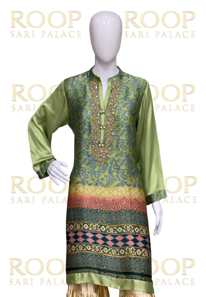 Light Green Kurti