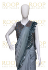 Pre-pleated Saree