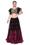 Black Lehenga Choli with Sequence Work
