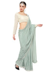 Light Green Saree