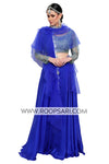Royal Blue Lehenga Choli - Size 38