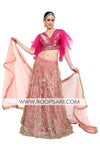 Two Tone Pink Lehenga Choli - Size 38