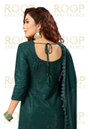 Dark Green Gharara Suit