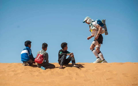 Komfuel Co-Founder finished the Marathon Des Sables in Style