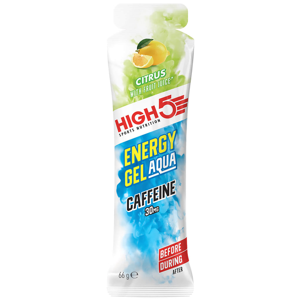 High5 Energy Gel Aqua Caffeine Citrus