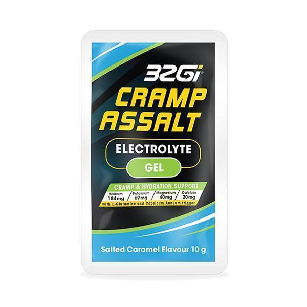 32Gi Cramp Assalt Electrolyte Gel Salted Caramel