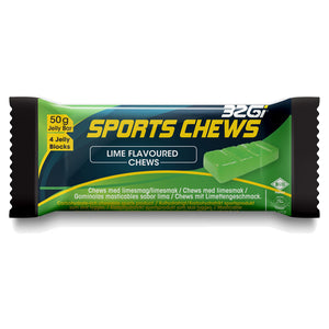 32Gi Sports Chews Lime Flavoured Chew