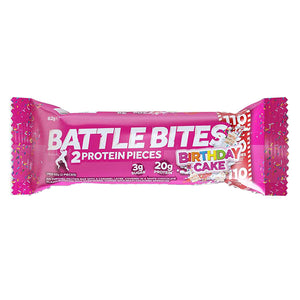 Battle Oats Battle Bites Birthday Cake